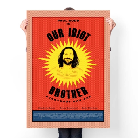 OUR_IDIOT_BROTHER_Paul_Rudd_24x36 display_mock up