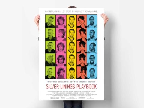 silver linings playbook film planetfab poster weinstein 1