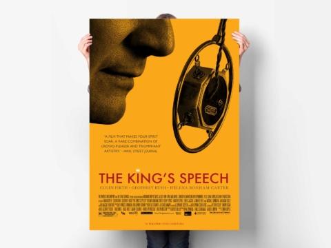 the kings speech film planetfab poster weinstein 1