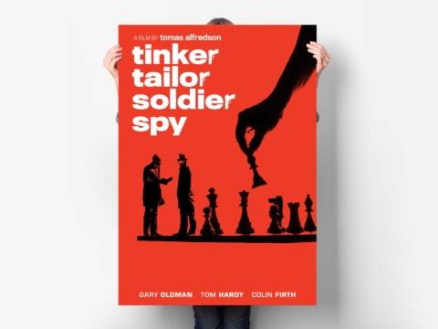 tinker tailor soldier spy film poster planetfab weinstein 4