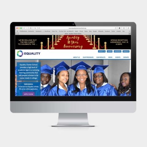 PLANETFAB EQUALITY CHARTER SCHOOL WEB BANNERS